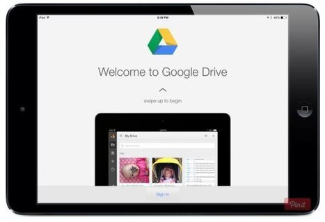 A Google Drive App for iPad Tutorial - Jonathan Wylie | iPads in the Classroom | Scoop.it