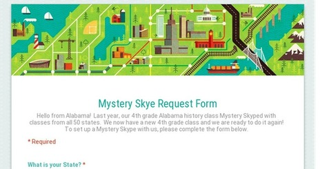 Mystery Skye Request Form | Educational Technology | Scoop.it