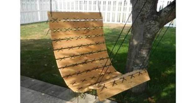 DIY : Un fauteuil suspendu en palette hyper déco pour le jardin | La Revue de Technitoit | Scoop.it