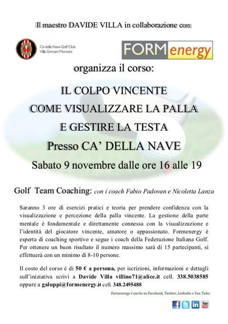 Il Colpo Vincente, come visualizzare la palla e gestire la testa | Fabio Padovan | Scoop.it