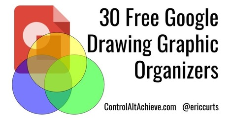 Eric Curts: Control Alt Achieve: 30 Free Google Drawings Graphic Organizers | E-Learning, Instructional Design, and Online Teaching | Scoop.it