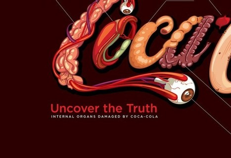 Coca-Cola's Honest Logo Shows Which Organs Are Harmed When You Drink It | @WorldTruthTV | The Basic Life | Scoop.it