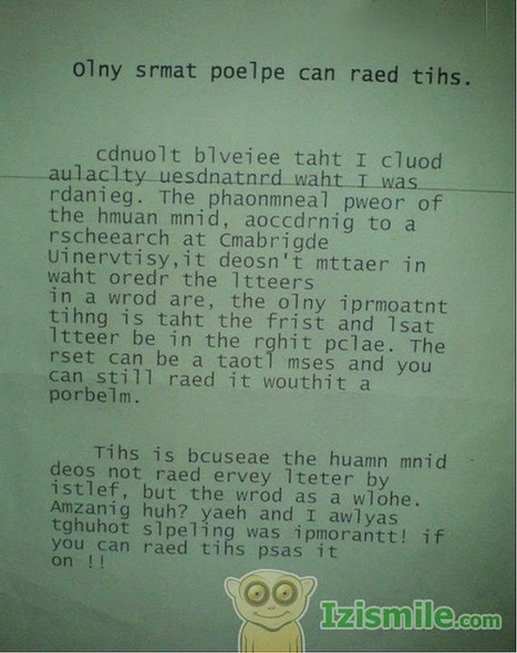 Only smart people can read this - ht @timmoore #tryitout on Twitpic | My Gems | Scoop.it