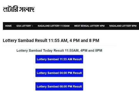 Morning Lottery Result