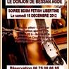 BDSM HERAULT LE DONJON DE BESSAN AGDE SOIREE BDSM FETISH LIBERTINE Le samedi 15 DÉCEMBRE 2012