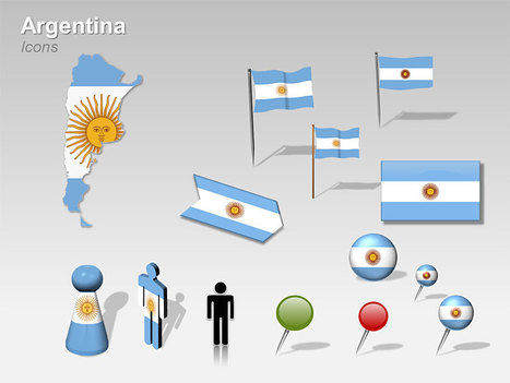 PowerPoint map in MAPS Ideas Examples Resources  Scoopit