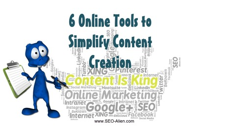 6 Online Tools to Simplify Content Creation Process | Allround Social Media Marketing | Scoop.it