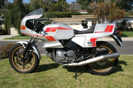 1982 Ducati Pantah 600SL | Rare SportBikes For Sale | Ductalk Ducati News | Scoop.it