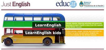 Just English ~ EduTIC   Aprenent anglès   Scoop.it