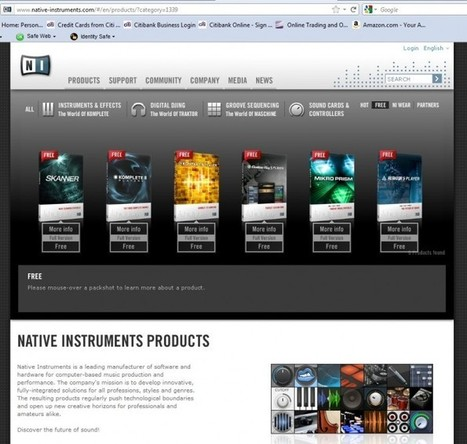 Native Instruments Offers Up Free 'Player' Versions of Their Awesome Music Tools! | Cotés' Tech | Scoop.it