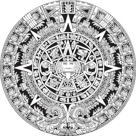 254d81207ddae Calendario Maya vectorizado gratis