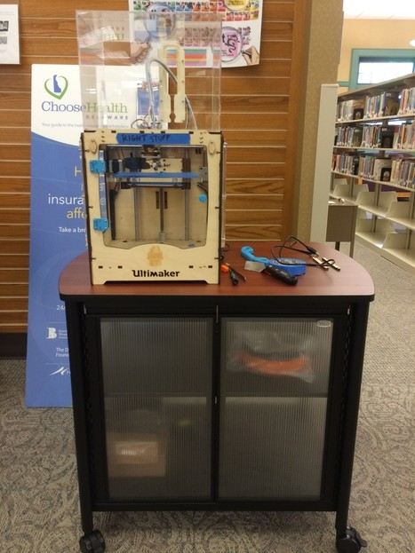 7 Delaware public libraries have 3D printers - Technical.ly Delaware | More TechBits | Scoop.it