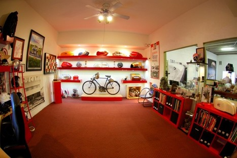 Presenting…My office. This literally IS Vicki's View   Ducati.net   Ductalk Ducati News   Scoop.it