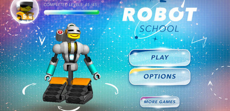 REVIEW: Learn Coding, 21st Century Fluencies and The Mathematical Process With Robot School | iPad apps in de klas | Scoop.it
