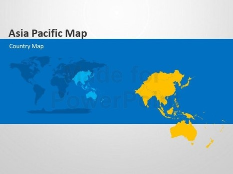 Asia Pacific Map - Editable PowerPoint Template | PowerPoint Presentation Tools and Resources | Scoop.it