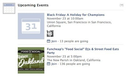 Facebook suggests upcoming events and recently released albums in News Feed   It's just the beginning   Scoop.it