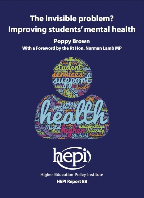 Many universities need to triple their spending on mental health support: urgent call for action in new HEPI paper - | Higher education news for libraries and librarians | Scoop.it