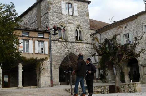 Monflanquin. Le centre historique revisité par le drone | Réseau Professionnel Tourisme - Office de tourisme Coeur de Bastides | Scoop.it