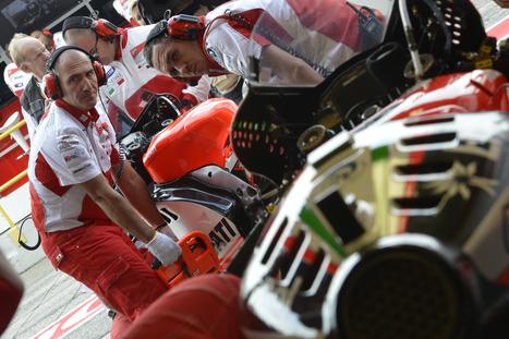 Ducati Team Prepares For Aragon MotoGP As 2012 Season Enters Final Phase | Desmopro News | Scoop.it