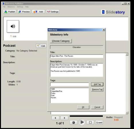 Transform Your Podcast Into a Presentation: Slidestory | Noticias, Recursos y Contenidos sobre Aprendizaje | Scoop.it