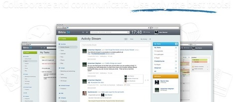 Bitrix24: Social Intranet, Task and Project Management, Activity Stream, Online Storage, CRM, Instant Messenger, File Sharing, Calendars and much more!   Intranets   Scoop.it