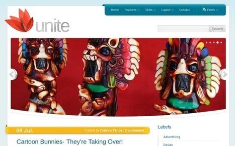 Unite - Pro Magazine Blogger Template | Blogger themes | Scoop.it