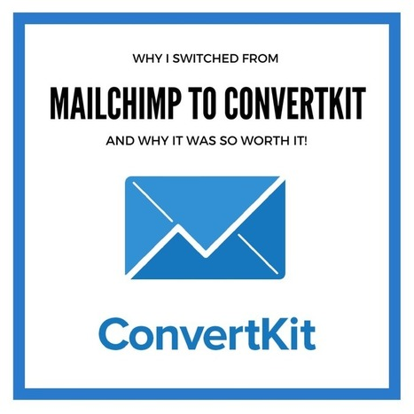 Why I Switched From MailChimp to ConvertKit with ConvertKit Demo | All Things Bookish: All about books, all the time | Scoop.it