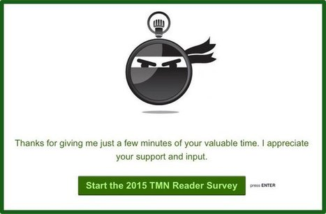 Please Take My 2015 TMN Reader Survey   time management   Scoop.it