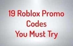 19 Roblox Promo Codes In Records Till 2018 Bl