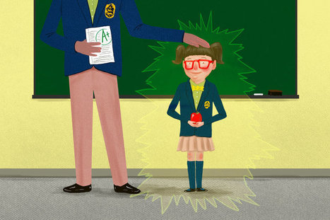 If Your Teacher Likes You, You Might Get A Better Grade | Social Media Classroom | Scoop.it