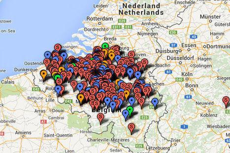La Belgique des start-up techno (carte interactive) | Médias Sociaux 2.0 | Scoop.it