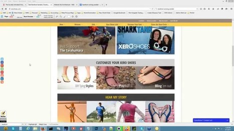 [Video] Live Website Review: Consultation for Xero Shoes - | Content Curation Is Not Social Media | Scoop.it