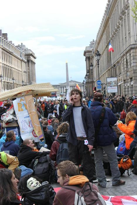 21A Siting Madeleine-Concorde   #marchedesbanlieues -> #occupynnocents   Scoop.it