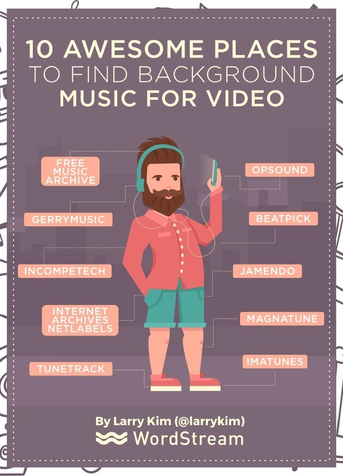 10 Awesome Places to Find Background Music for