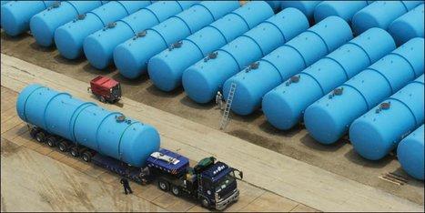 Des centaines de citernes pour l'eau radioactive   20 Minutes.ch   Japon : séisme, tsunami & conséquences   Scoop.it