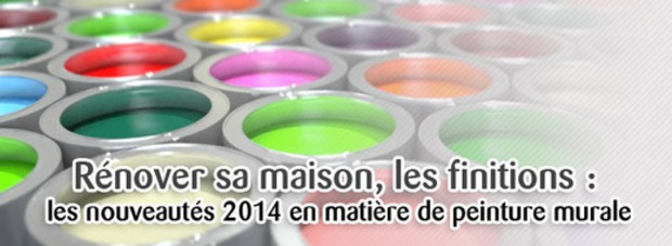Rénover sa maison : les nouveautés 2014 en matière de peinture murale | La Revue de Technitoit | Scoop.it