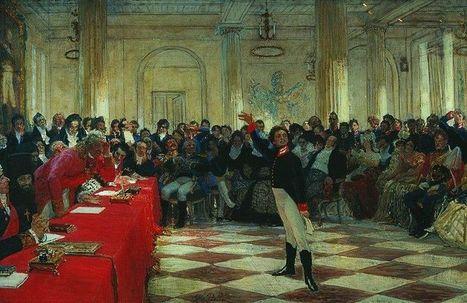#146 ❘ AlexandreSergueïevitch Pouchkine(1799-1837)   # HISTOIRE DES ARTS - UN JOUR, UNE OEUVRE - 2013   Scoop.it