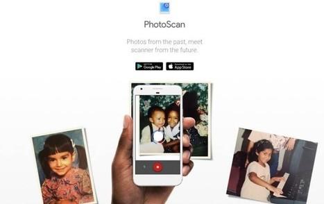 PhotoScan, para pasar las fotografías analógicas a digitales con la máxima sencillez y calidad | Utilidades TIC para el aula | Scoop.it