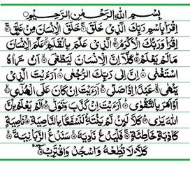Teks Bacaan Surat Al Zalzalah Arab Latin Dan Te