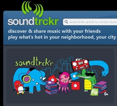 Soundtrckr: geosocial internet radio | music innovation | Scoop.it