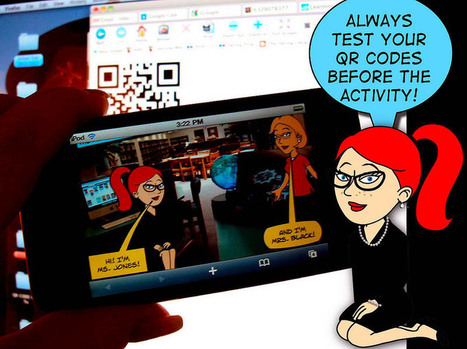 On Teacher Comfort Zones, Pirates, & Using QR Codes In The ... | Engaging Students Using QR Codes! | Scoop.it