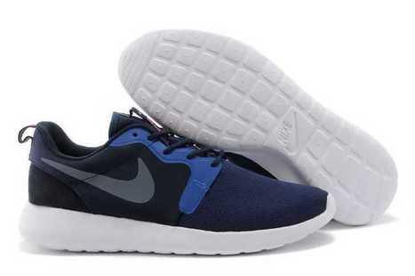 e775f434fb50 Popular Nike Roshe Run Black Blue Sale UK Discount Eastbay