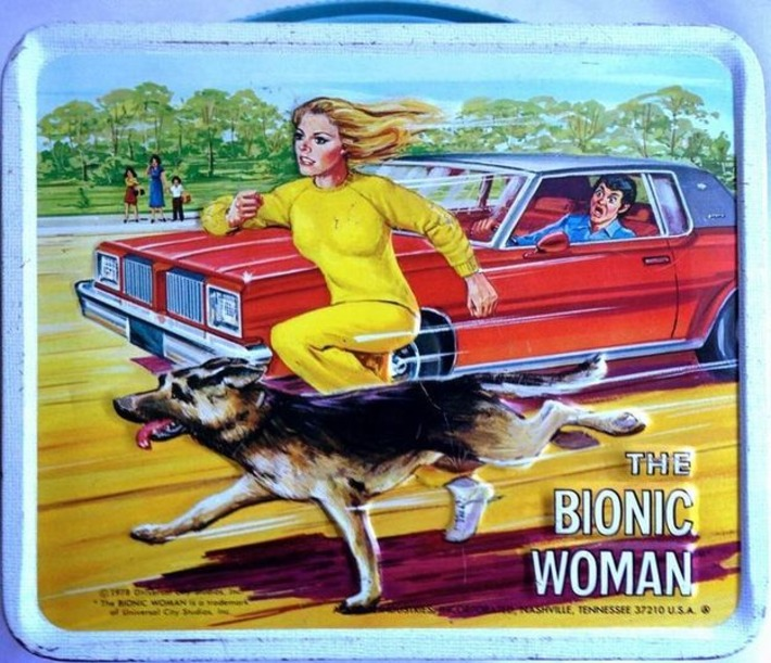 Bionic Woman Lunchbox | Kitsch | Scoop.it