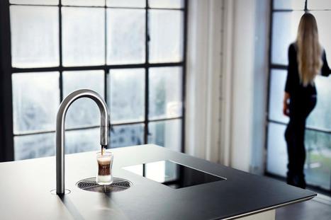 Une machine à café design contrôlée par un iPhone | Minimalistdesign | Scoop.it