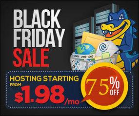 Hostgator Black Friday 2014 - 75% Off On All Hosting Plans | Blogger Tricks, Blog Templates, Widgets | Scoop.it