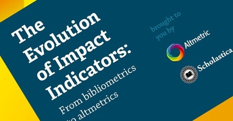 Scholastica & Altmetric Announce Free eBook: The Evolution of Impact Indicators | Research Tools Box | Scoop.it