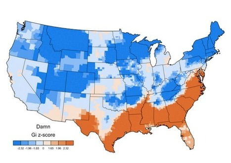 American Curses, Mapped | Geography Education | Scoop.it