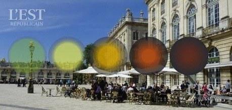 Nancy : un mobilier urbain pour indiquer la qualité de l'air | Développement durable en ville - initiatives urbaines | Scoop.it