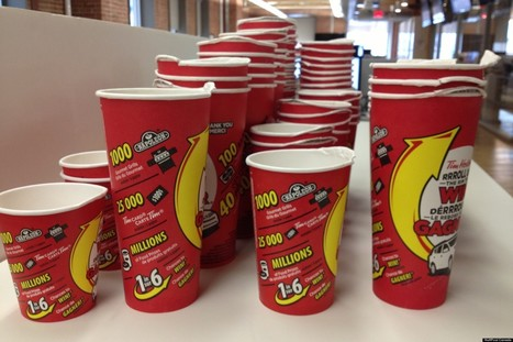 True Or False: Large Timmies Cups Win More Roll-Up Prizes | PR examples | Scoop.it