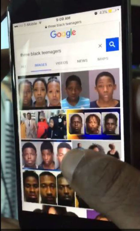 What happens when you Google 'three black teenagers' and why it's a problem | Technoculture | Scoop.it